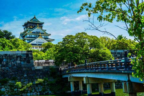 کاخ اوزاکا,قلعه اوزاکا,جاذبه های گردشگری جهان