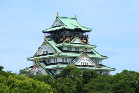 قلعه اوزاکا,قلعه اوزاکا ژاپن,دیدنی های ژاپن