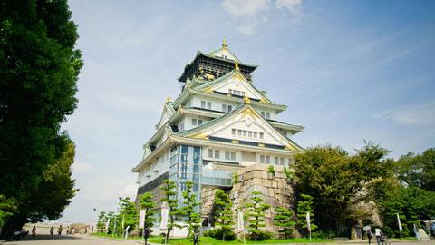 کاخ اوزاکا,جاذبه های گردشگری ژاپن,ژاپن