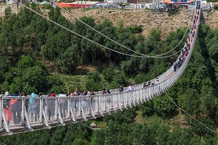 عکس هایی از پارک پردیسان,پل معلق پارک پردیسان,پل معلق نهج البلاغه