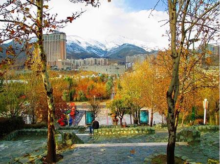 پارک پرواز کجاست, پارک پرواز تهران, بوستان پرواز سعادت آباد
