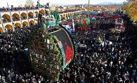مراسم های عزاداری روز عاشورا،آیین های شهرهای مختلف در روز عاشورا،مراسم عزاداری در یزد