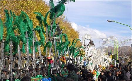 مراسم های عزاداری روز عاشورا،آیین های شهرهای مختلف در روز عاشورا،مراسم عزاداری در استان کرمان