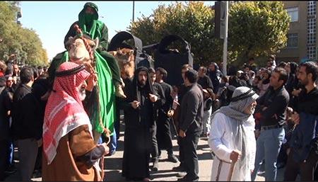 مراسم های عزاداری روز عاشورا،آیین های شهرهای مختلف در روز عاشورا،مراسم عزاداری در استان همدان