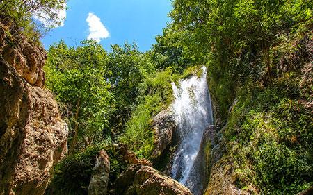 باغملک,شهرستان باغملک,آبشارهای تنگ کرد