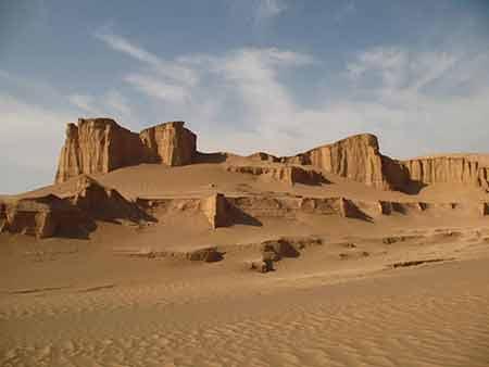 مکان دیدنی ایران در زمستان,جاهای دیدنی ایران در زمستان,کویر لوت