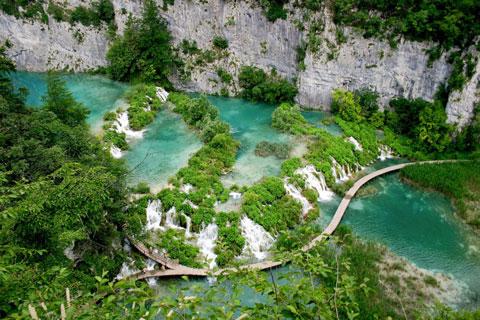 دریاچههای پلیتویک,پارک ملی دریاچههای پلیتویک،پلیتویک