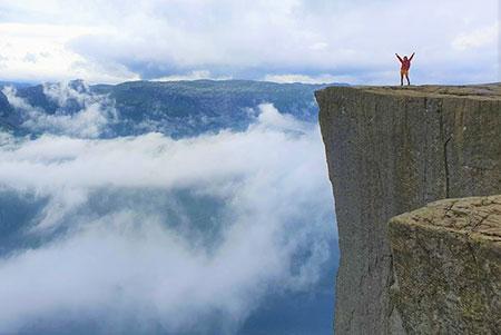 پریکستولن,صخره پریکستولن,پریکستولن نروژ