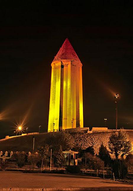 برج گنبد قابوس,برج گنبد قابوس کجاست,عکس برج گنبد قابوس