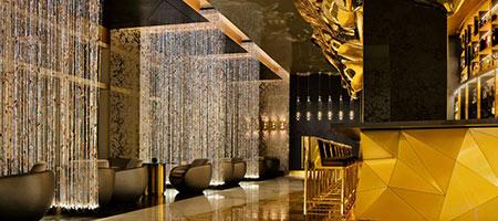 رستوران طلاکوب در دبی, رستوران طلاکوب در برج العرب جمیرا,رستوران طلایی