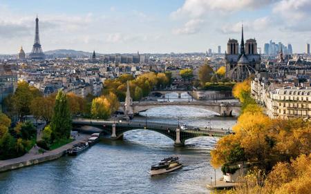 بزرگترین رود اروپا, جاذبه گردشگری فرانسه, رود راین