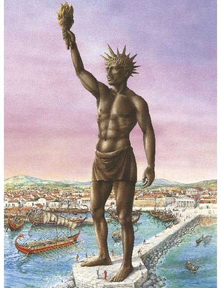 معمار تندیس رودس, عجایب هفت گانه غول رودس, تندیس غول رودس