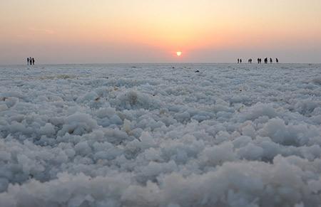 کویر نمکی هند,صحرای نمک هند,عکس های کویر نمکی هند