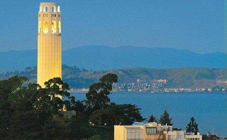 جاذبه های گردشگری سان فرانسیسکو,سان فرانسیسکو,برج های های سان فرانسیسکو