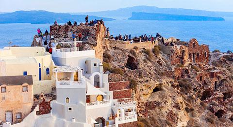 سانتورینی,جزیره سانتورینی,جاذبه های تاریخی یونان