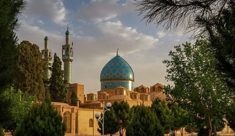 آرامگاه شاه نعمت الله ولی,معماری آرامگاه شاه نعمت الله ولی,جاذبه های گردشگری کرمان