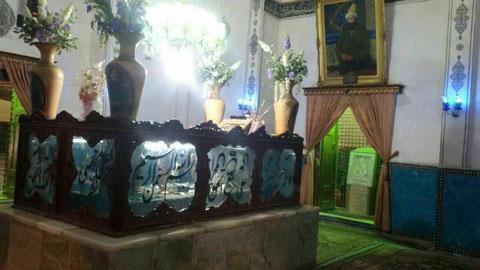 آرامگاه شاه نعمت الله ولی,شاه نعمت الله ولی,شهر ماهور کرمان