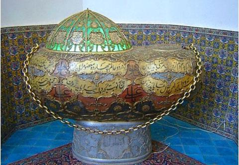 آرامگاه شاه نعمت الله ولی,موزه شاه نعمت الله ولی,مکانهای دیدنی کرمان