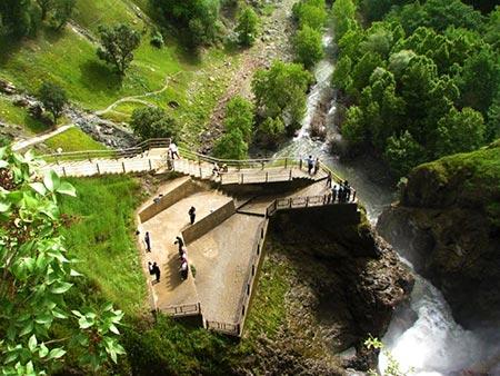 آبشار شلماش,آبشار شلماش سردشت,معرفی آبشار شلماش