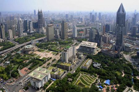 فهرست جاذبههای گردشگری در شانگهای,جاذبههای گردشگری شانگهای, میدان مردم