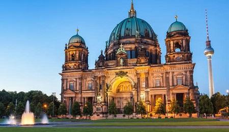 جاذبه های توریستی برلین,دیدنی های برلین,کلیسای جامع برلین