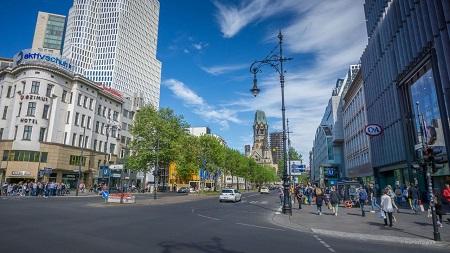 دیدنی های برلین,شهر برلین,خیابان کورفرستندام