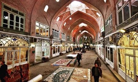 دیدنی های تبریز,مکان های تاریخی تبریز,بازار بزرگ تبریز