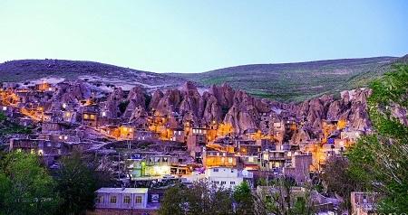 جاذبه های دیدنی تبریز,مکان های دیدنی تبریز,روستای کندوان