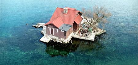 کوچک ترین جزیره مسکونی،جزیره مسکونی کوچک,کوچک ترین جزیره