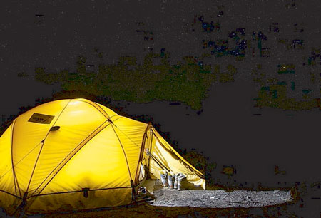 اسکان در چادر,دانستنیهای سفر,چادر مسافرتی