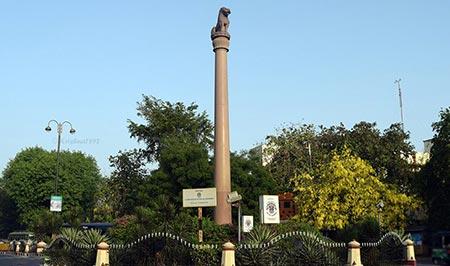 اسرار هند,عجیب ترین اسرار هند,ستون آهنی اسرارآمیز دهلی
