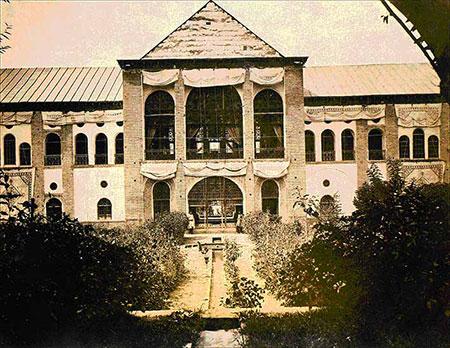 کاخ صاحبقرانیه,کاخ صاحبقرانیه تهران,تاریخچه کاخ صاحبقرانیه