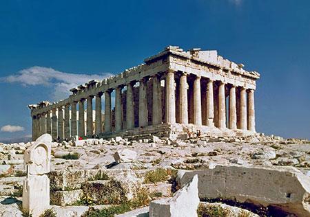 معبد آتنا,معبد آتنا در یونان,معبد الهه پیروزی در آتن