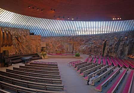 کلیسای تمپلیاکیو فنلاند,تاریخجه کلیسای تمپلیاکیو فنلاند,عکس های کلیسای تمپلیاکیو