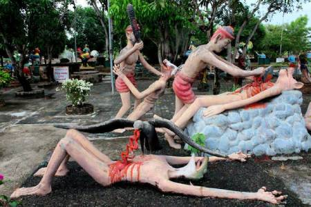 پارک جهنم تایلند,باغ جهنم