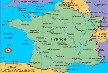 مکان های تفریحی فرانسه,کشور فرانسه,تور فرانسه