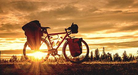 سفر با دوچرخه,نکات سفر با دوچرخه,دانستنی های سفر با دوچرخه