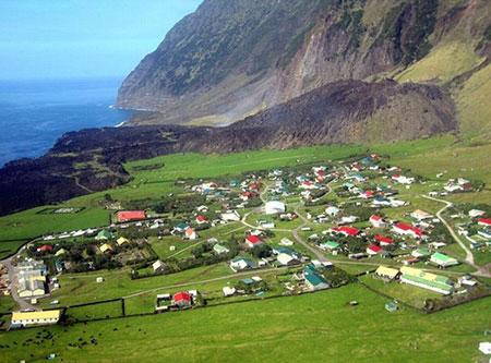 عکس های جزیره تریستان دا کونا,دورترین نقطه مسکونی در جهان,جزیره تریستان دا کونا کجاست