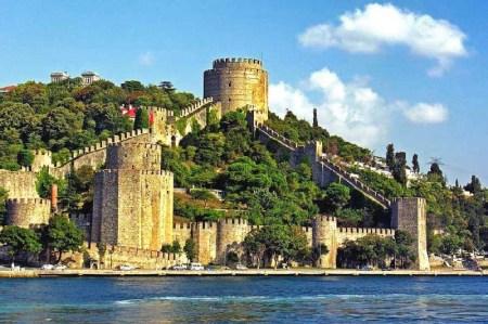 قلعه روملی حصار استانبول,قلعه روملی حصار,معماری قلعه روملی