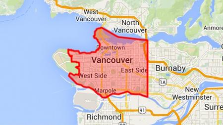 ونکوور,ونکوور کانادا,شهر ونکوور کانادا