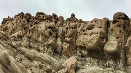 روستای وردیج, کوه عروسکی وردیج, موقعیت مکانی روستای وردیج