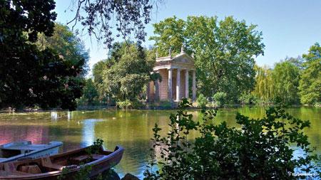 شهر رم,فهرست جاذبههای گردشگری در رم,ویلا بورگزه