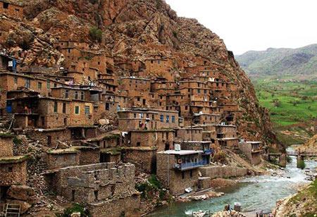 روستای ژیوار,روستای ژیوار در کردستان,عکس های روستای ژیوار