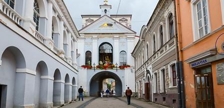 ویلنیوس,جاذبه های گردشگری شهر ویلنیوس,دروازه داون
