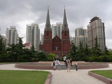 فهرست جاذبههای گردشگری در شانگهای,جاذبههای گردشگری شانگهای,کلیسای جامع Xujiahui