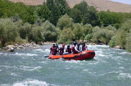 عکس زاینده رود,عکس هایی از زاینده رود اصفهان,رفتینگ زاینده رود