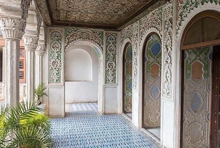 خانه زینت الملک,عکس های خانه زینت الملوک,خانه زینت الملوک در شیراز