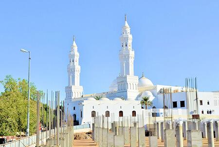 معماری مسجد ذوقبلتین, تصاویر مسجد ذوقبلتین, درباره ی مسجد ذوقبلتین