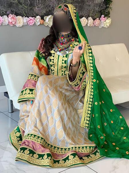 پیراهن افغانی,مدل لباس افغانی