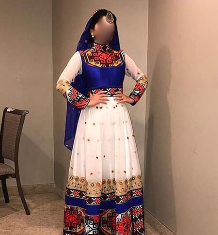 پیراهن های شیک افغانی, شیک ترین مدل لباس افغانی